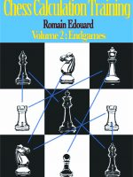 R. Edouard – Chess Calculation Training, Vol. 2: Endgames
