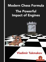 Vladimir Tukmakov – Modern Chess Formula – The Powerful Impact of Engines