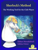 E. Moradiabadi & S. Foisor – Sherlock's Method – The Working Tool for the Club Player